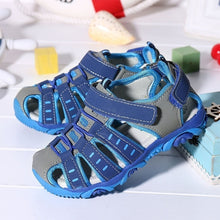 Load image into Gallery viewer, New Size 21-37 Summer Children's Sandals Casual Soft Bottom Shoes Flat Comfortable Beach Shoes for Boys