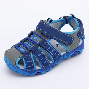 New Size 21-37 Summer Children's Sandals Casual Soft Bottom Shoes Flat Comfortable Beach Shoes for Boys