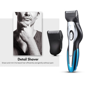 11-IN-1 Professional Fast Charging Hair Clipper Haircut Shaver Wireless Beard Razor Styling Engraver Tools Ear Noes Hair Trimmer