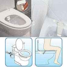 Load image into Gallery viewer, Bidet Attachment Self Clean Nozzles Adjustable Water Spray NonElectric Mechanical Bidet Toilet Seat Attachment
