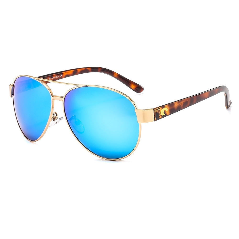 Unisex Costa HD Polarized Sunglasses European and American Style Metal Frame Sunglasses