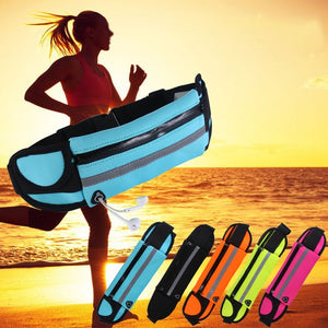 Fashion New Outdoor Sports Mobile Phone Pockets Running Jogging Anti-Theft Pockets Unisex Ultra-Thin Chest Waist Large Capacity Pockets
