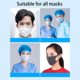 12 Pcs Anti-Slip Artifact Mask Conversion Buckle Auxiliary Buckle Ear Rope Extension Buckle Mask Hook Ear Wear Type Adjustment Buckles