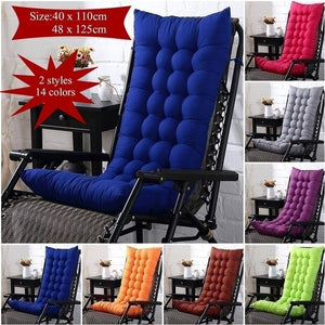 14 Color 3 Styles Autumn and Winter Sanding Chair Cushion Thickened Double-sided Lunch Break Folding Chair Cushion Rocking Chair Cushion