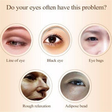 Load image into Gallery viewer, Eye Care Water Light Needle Eye Cream Moisturizing Remove Eye Bags Dark Circle Fat Granule Collageen Whitening Eyes Essential Cream Skin Care