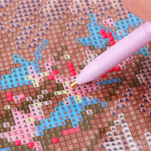 Load image into Gallery viewer, Crown Crystal 5D Diamond Painting Point Drill Pen DIY Crafts Cross Stitch Sewing Accessories