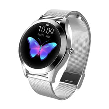Load image into Gallery viewer, Smart Watch Women IP68 Waterproof Heart Rate Monitoring Stainless Steel Smart Watch Fitness Bracelet Smartwatch Best Gift for Girl Friend Women Ladies