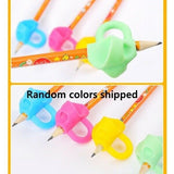 Children's silicone three-finger grip pen grip pen position correction