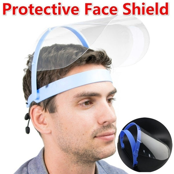 Adjustable Anti-drip Protection Dust Mask Full Face Coverage Mask Windproof Washable Face Protection Mask