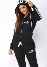 Load image into Gallery viewer, Fashion WomenSportswear Suit  Hooded Sweatshirts + Long Pants