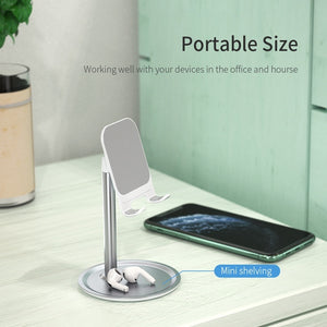 FPU Portable Phone Holder Stand Mobile Smartphone Support Tablet Stand for iPhone iPad Pro Desk Cell Phone Holder Stand