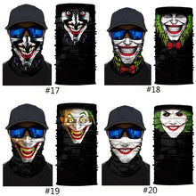 Load image into Gallery viewer, 3D Skull Joker Clown Bandana Face Mask Winter Ski Cycling Neck Scarf Balaclava
