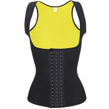 Load image into Gallery viewer, Women Neoprene Waist Trainer Corset Sweat Vest Weight Loss Body Shaper Workout Tank Tops