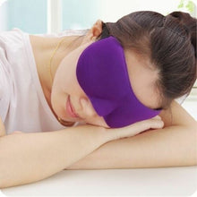 Load image into Gallery viewer, 3D Sleeping Eye Mask Cover Patch Paded Soft Relax  Sleeping Blindfold