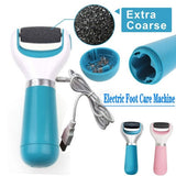 Electric Foot Grinder Heel File Grinding Exfoliator Pedicure Machine Feet Care Professional Manicure Salon Tools(Without Battery)