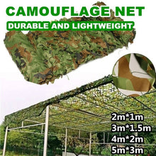Load image into Gallery viewer, Muti-Size Hunting Camping Outdoor Desert Woodland Blinds Army Military Camouflage Camo Net Sun Shelter Jungle sun shelter Car Cover