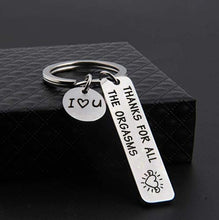Load image into Gallery viewer, Romantic Funny Gift for Boyfriend Husband Engraved Keychian I Love You Naughty Gift
