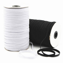 Load image into Gallery viewer, 5 yards 3-12mm High-Elastic Sewing Elastic Ribbon Elastic Spandex Band Trim Sewing Fabric DIY Garment Accessories