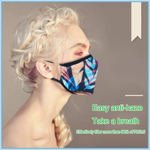 1pc Anti Dust Mask Windproof Activated Carbon Filter Mouth-muffle Face Masks Mouth Care Mask Healthy Life