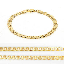 Load image into Gallery viewer, 14K Solid Yellow Gold Bracelet Chain For Men Jewelry Women Jewelry 210mm 8.3' Stamped 14K