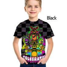 Load image into Gallery viewer, New Fashion FNAF Five Nights At Freddy's Boys Girls Unisex Clothes Kids Tees Clothing Children T-shirts