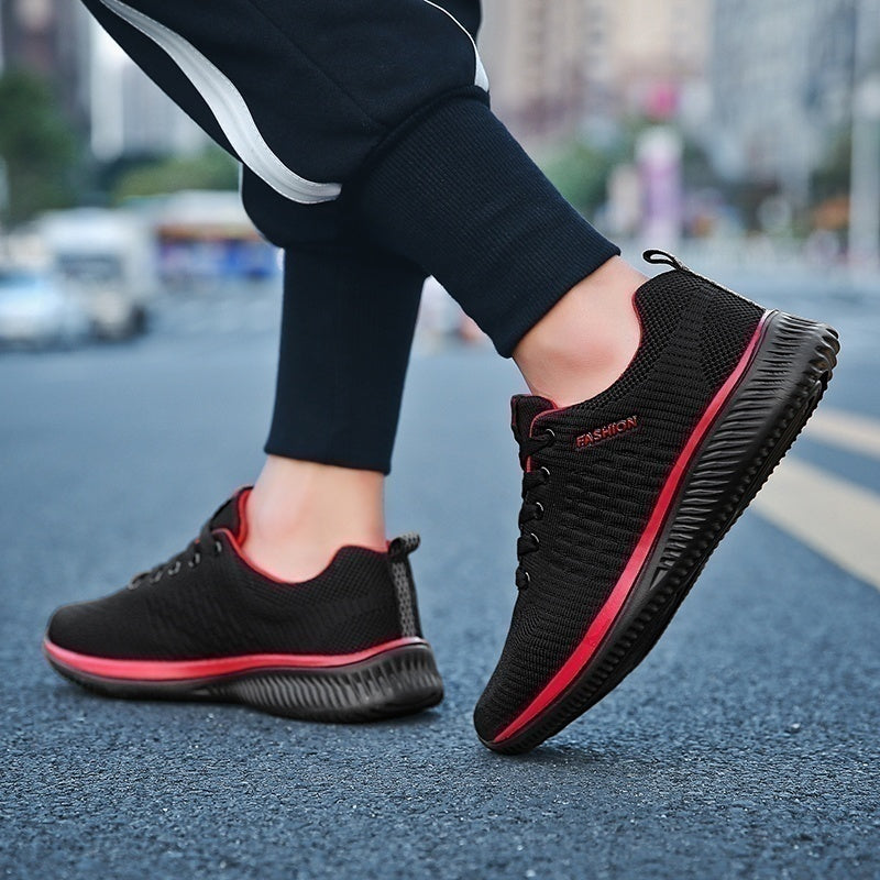 Mens Women's Sports Shoes Men's Breathable Jogging Casual Running Shoes Men Athletic Sneakers Trail Running Shoes  Size:35-48