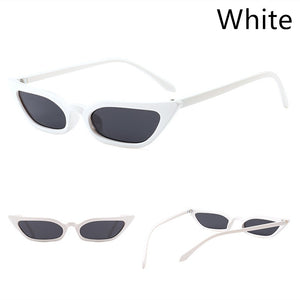 New Trend Small Frame Sunglasses Transparent Ocean Piece Cat Eye Sunglasses Fashion Street Sunglasses