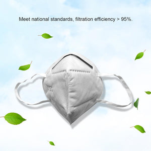 10/20 Pcs KN95 Protection Adult Breathable Reusable Face Mouth Masks