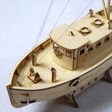Load image into Gallery viewer, New Wooden Sailing Boat Model DIY Kits 1/50 Scale Ship Assembly Building Educational