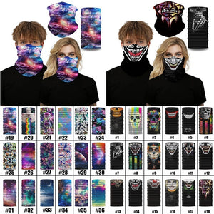 Cool Universe Celestial Bodies Star Skull Mask Ski Scarf Neck Sleeve Riding mask Bandana Ski Mask Cachecol