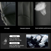 Load image into Gallery viewer, 4pcs/9pcs Car Seat Cover Set Leather,Automotive Black Seat Protector Covers,Car Seat Covers Universal,Car Accessories