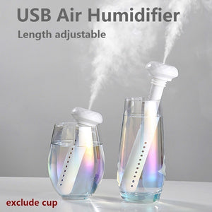 Portable USB Air Humidifier Nano Spray Water Replenishing Air Humidifier USB Humidifier Purifier Atomizer Air Diffuser