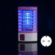 Load image into Gallery viewer, Led Socket Electric Mosquito Killing Repeller Lamp Fly Bug Insect Trap Killer Zapper Home Living Indoor Mosquito Repellent Night Lamp Lights