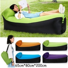 Load image into Gallery viewer, High Quality Fast Inflatable Lazy Sofa Lounger Air Sofa Unicorn Bean Bag Chair Outdoor Beach Lounger