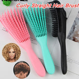 Hot Scalp Massage Comb Hair Brush Women Detangle Hairbrush Anti-tie Knot Comb for Long Curly Wet Straight Hair