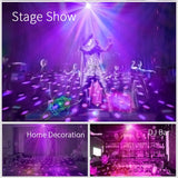 Mini Magic LED Night Light Stage Effect Lighting Lamp Xmas Party Decoration