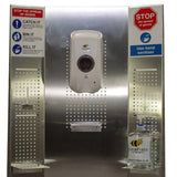Ultimate Hand Sanitizer Dispenser Station with Three Drip Trays Two Glove Box and Two Bins - InteliBEE Technologies