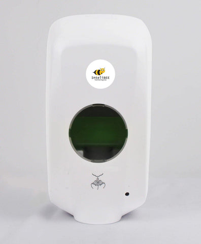Automatic Hand Sanitizer Dispenser Hands-Free Sensor White 1000ml with UK Plug. - InteliBEE Technologies