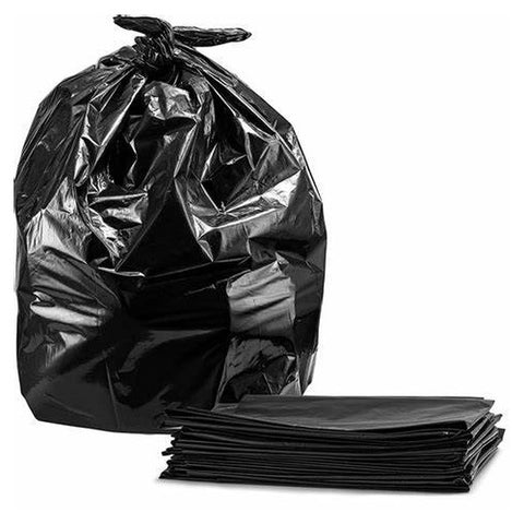 "BLACK Extra Heavy Duty Recycled Sacks Compactor 20 kg 100ltr 20"" x 34"" x 47"" 200pcs - InteliBEE Technologies"