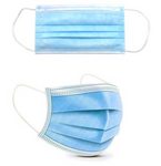 Type IIR Disposable Face Mask Medical Grade Pack of 50 98% Filtration - InteliBEE Technologies
