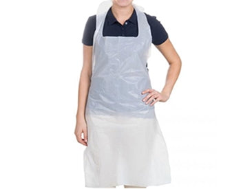 "Disposable Aprons NHS approved 16 Micron 27"" x 46"" 200 aprons per roll x 5 1000pcs - InteliBEE Technologies"