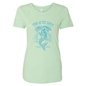 """Maid in the Shade"" in Mint Women's Ideal T-Shirt"
