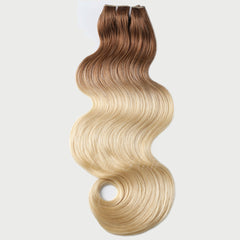#12-613 Ombre Clip-in Hair Extensions-1Pc.Sextuple Wefts