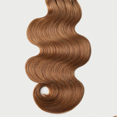 #12 Brown Sugar Clip-in Hair Extensions-1Pc.Sextuple Wefts