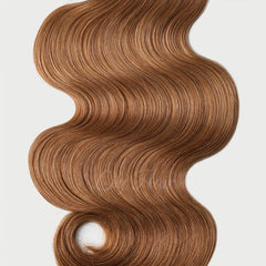 #12 Brown Sugar Nano Tip Hair Extensions 1g-strand 100g