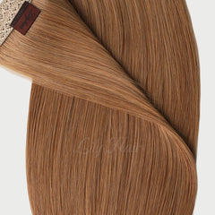 #12 Brown Sugar Pre-Bonded V Tip Hair Extensions 1g-strand 100g