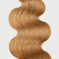 #16 Butterscotch Clip-in Hair Extensions-1Pc.Sextuple Wefts