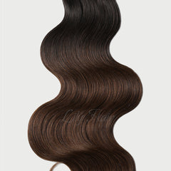 #1B-4 Ombre Classic Flip-in Hair Extensions