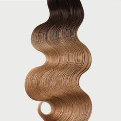 #2-12 Ombre Nano Ring Hair Extensions 1g-strand 100g