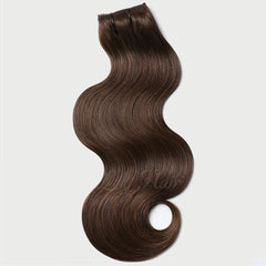 #2-4 Highlights Clip-in Hair Extensions-1Pc.Sextuple Wefts